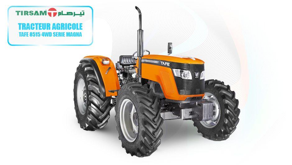TAFE 8515 4WD TIRSAM